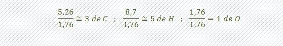 calculo de la formula empirica paso 2