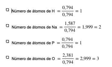 composición centesimal Calcula su fórmula empírica.