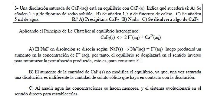 factores que afectan a la solubilidad efecto ion comun